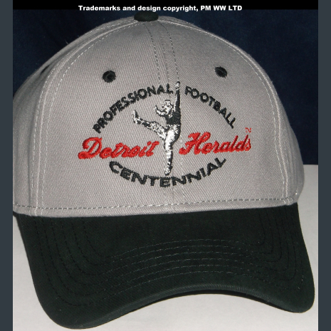 Detroit Heralds Pro Football year one 1920 embroidered two-tone ballcap