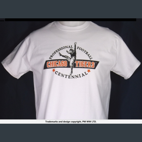 Chicago TIgers, Pro Football year one 1920 team, quality cotton shirt