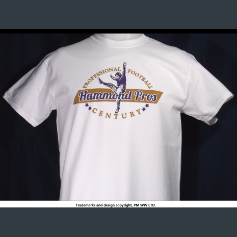 Hammond Pros, Pro Football year one 1920 team, quality cotton shirt