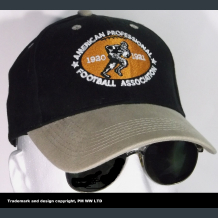 American Professional Football Association 1920-21 embroidered two-tone ballcap
