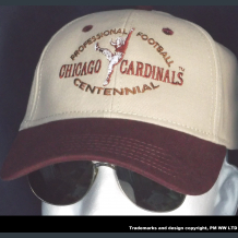 Chicago Cardinals Pro Football year one 1920 embroidered two-tone team ballcap