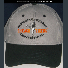 Chicago Tigers Pro Football year one 1920 embroidered two-tone ballcap