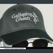 Galloping Ghosts football embroidered two-tone ballcap