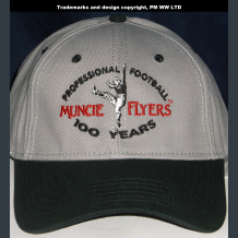 Muncie Flyers Pro Football year one 1920 team embroidered ballcap