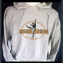 Pro Football 1920-2019 Centennial hoodie with hand warmer pocket