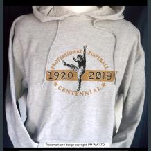 Pro Football 1920-2019 Centennial hoodie with hand warmer pocket