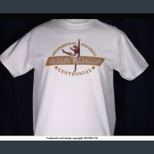 Chicago Cardinals, Pro Football year one 1920 team, quality cotton shirt