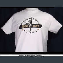 Pro Football 100 Years 1920-2019 quality cotton shirt